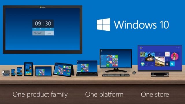 Fitur Windows 10 Dapat Digunakan Diberbagai Perangkat Seperti Komputer, Laptop, Smartphone dan Tablet