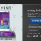 Galaxy Launc Pack, Situs Resmi Pemesanan Samsung Galaxy Note 4