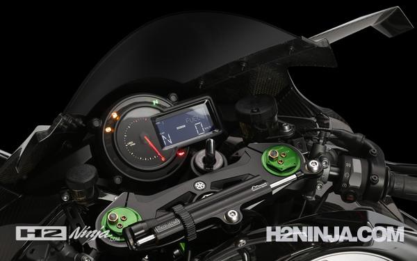 Gambar Odometer dan Speedo Meter Kawasaki Ninja H2 2015