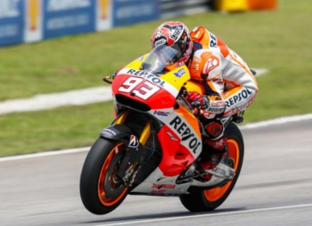 Marc Marquez Juara Dalam MotoGP Sepang Malaysia