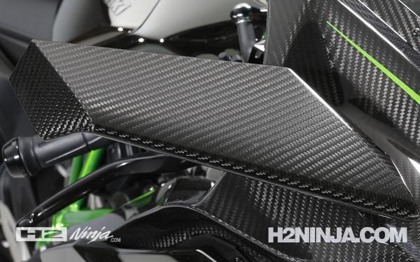 Material Bodi Kawasaki Ninja H2 2015