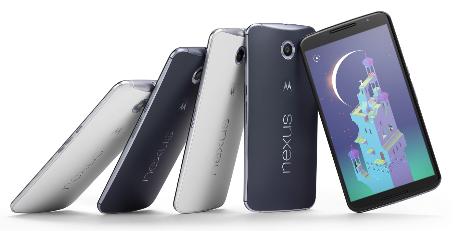 Pilihan Warna dan Spesifikasi Nexus 6