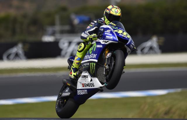 Rossi Juara di MotoGP Australia