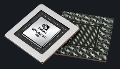 VGA Geforce GTX 980M.