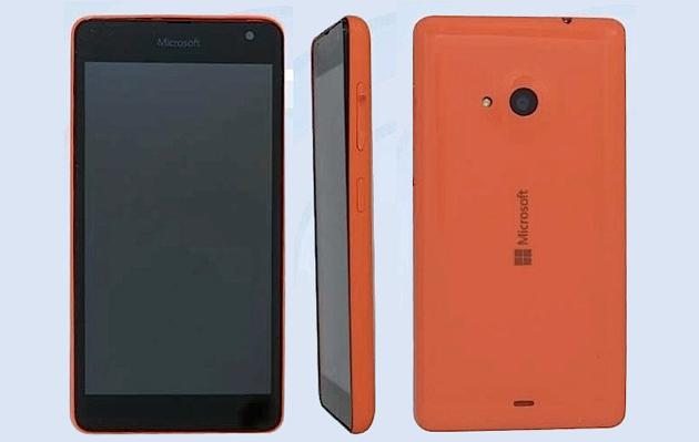 Gambar Ponsel Microsoft Lumia.