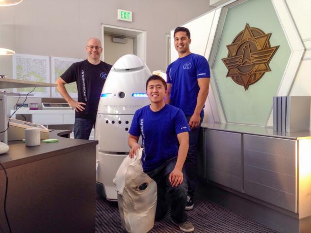 K5 Robot Penjaga Keamanan Buatan Knightscope