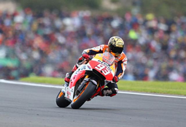Marc Marquez Dalam MotoGP Valencia