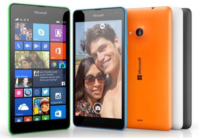 Pilihan Warna dan Harga Lumia 535