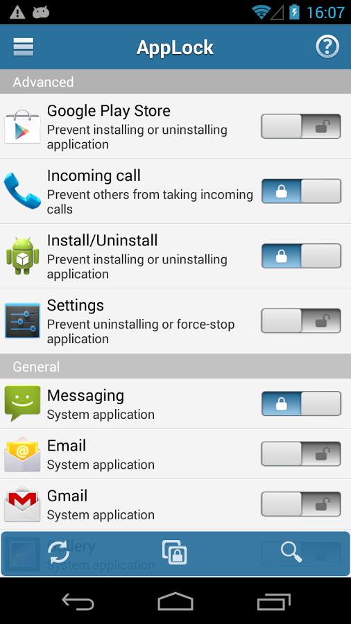 AppLock Aplikasi Android Untuk Mengunci Aplikasi