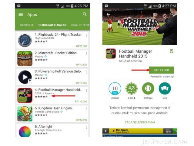Beli Games Android Dengan Pulsa.