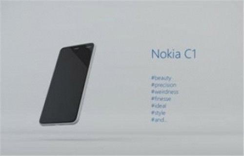 Spesifikasi Nokia C1