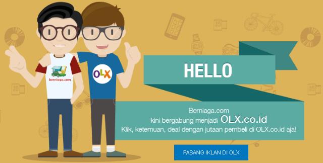 Berniaga.com Berganti Ke OLX.co.id