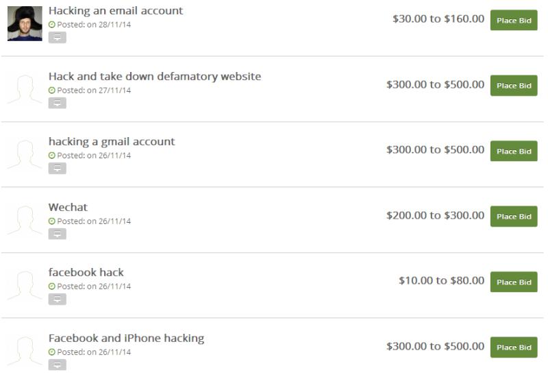 Biaya dan Harga Hack Facebook, Hack Gmail dan Hack Website