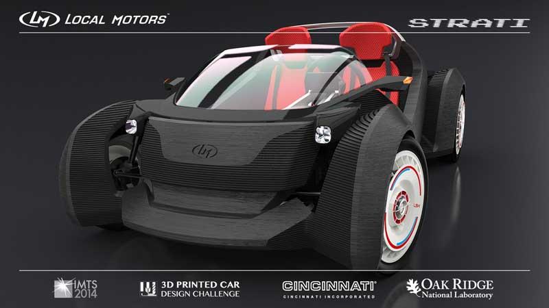 Gambar Mobil Hasil Printer 3D
