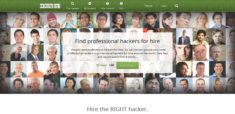 Jasa Hacker dan Tempat Menyewa Hacker - Hackers List