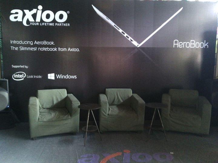 Spesifikasi dan Harga Axioo AeroBook.