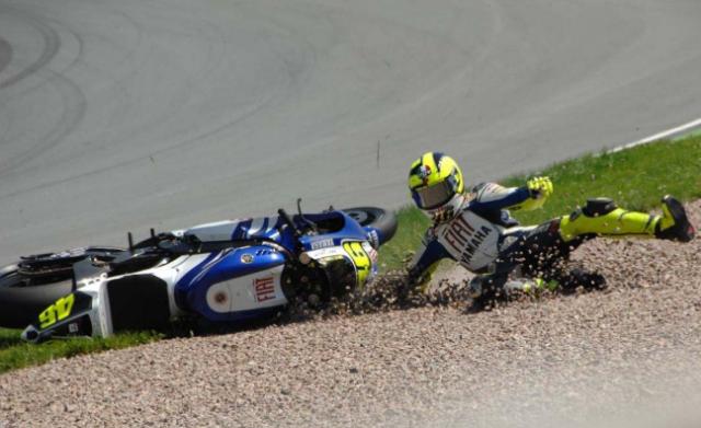 Video-Video Kecelakaan MotoGP
