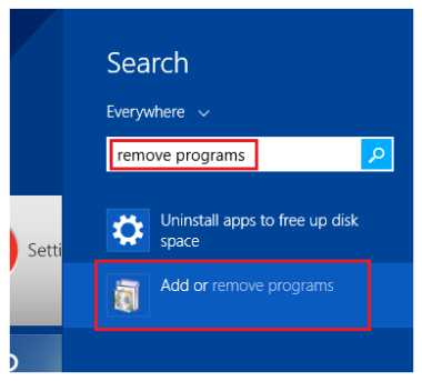 Akses Add Remove Programs Di Windows 8