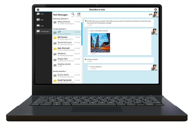 BBM-an di PC - Laptop Menggunakan BlackBerry Blend