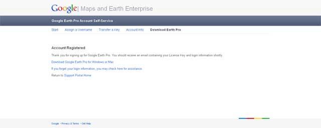 Free Key Google Erth Pro Dikirim Via Email