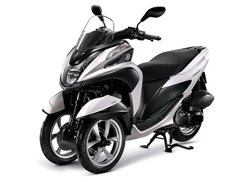 Gambar Yamaha Tricity Warna Putih