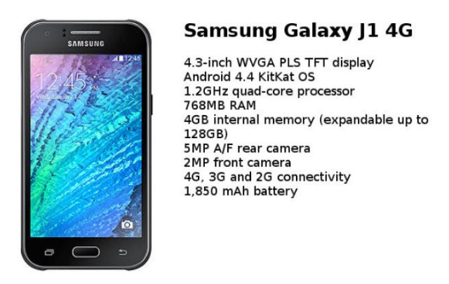 Harga dan Spesifikasi Samsung Galaxy J1 Di Indonesia