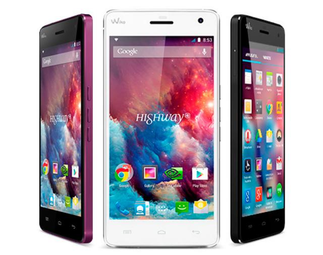 Harga dan Spesifikasi Smartphone Wiko Highway 4G