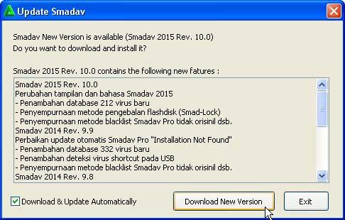 Update Antivirus Smadav Pro 2015 Versi 10