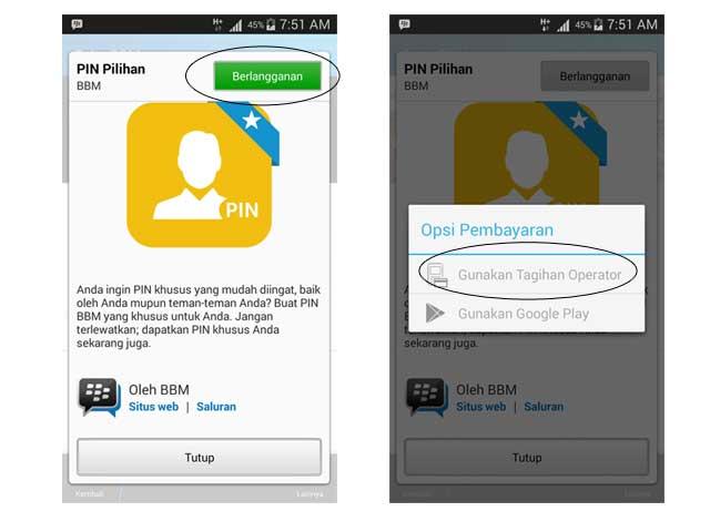 Cara Mengganti PIN BBM Android