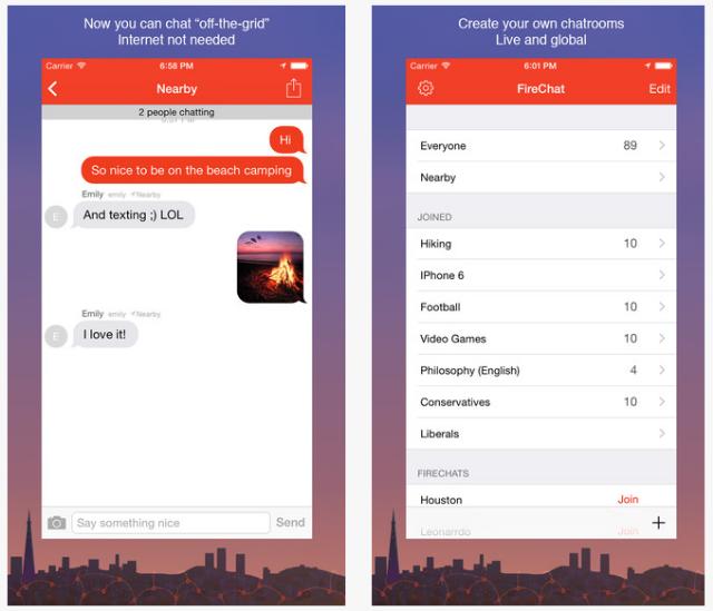 Download Aplikasi FireChat Untuk Android dan iPhone