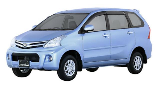 Gambar Daihatsu Xenia Warna Biru