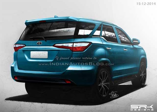 Gambar Toyota Fortuner 2016 Warna Biru