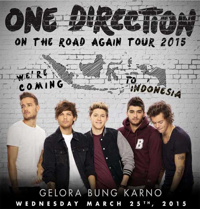 Konser One Direction Di Jakarta 2015