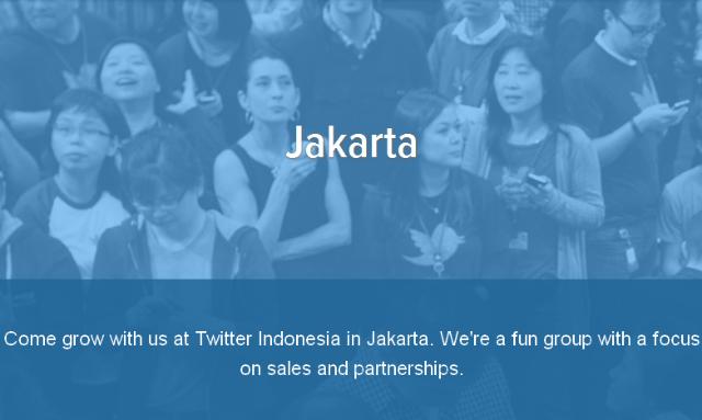 Lowongan Kerja Twitter Jakarta Indonesia