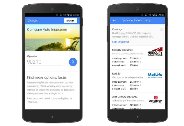 Membandingkan Tarif Asuransi Mobil Dengan Google Compare Auto Insurance