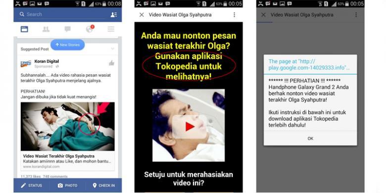 Video Wasiat Terakhir Olga Syahputra