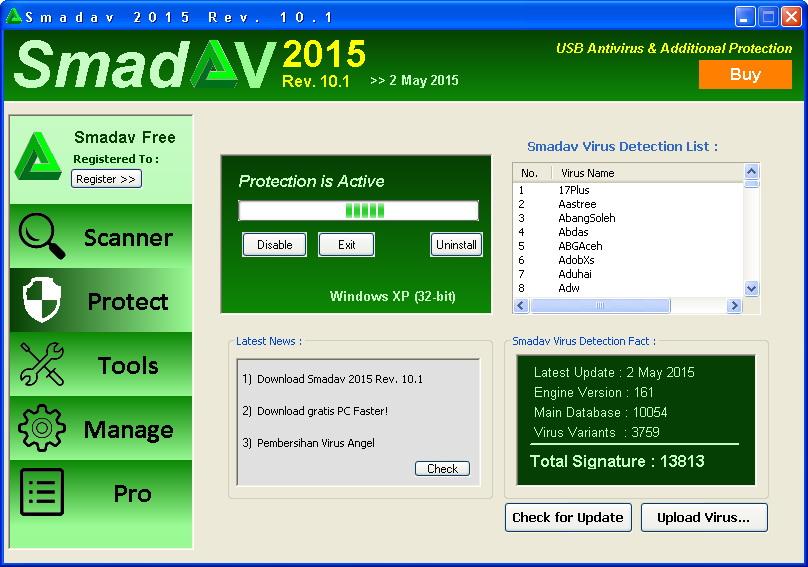 Download Smadav Antivirus 2015 Terbaru 10.1