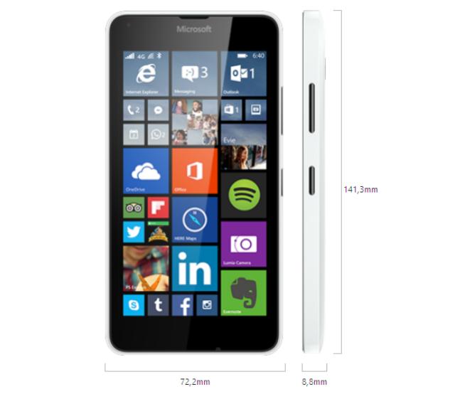 Fitur dan Spesifikasi Lumia 640