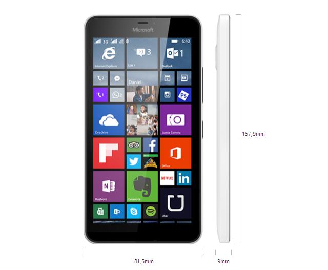 Fitur dan spesifikasi Lumia 640 XL Dual Sim