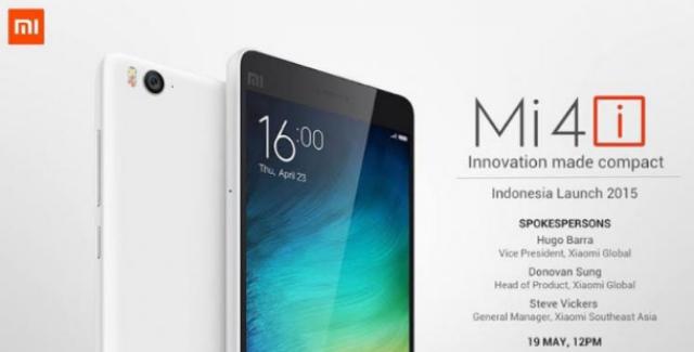 Xiaomi Mi 4i Rilis Di Indonesia.