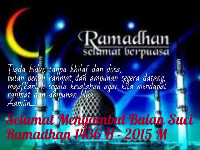 Awal Bulan Puasa Ramadhan 2014 - 1436 H