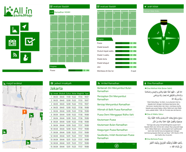 Download Aplikasi All in Ramadhan Untuk Windows Phone