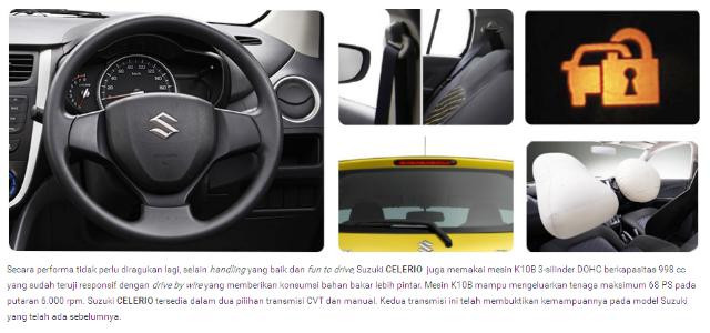 Fitur Keamanan Suzuki Celerio