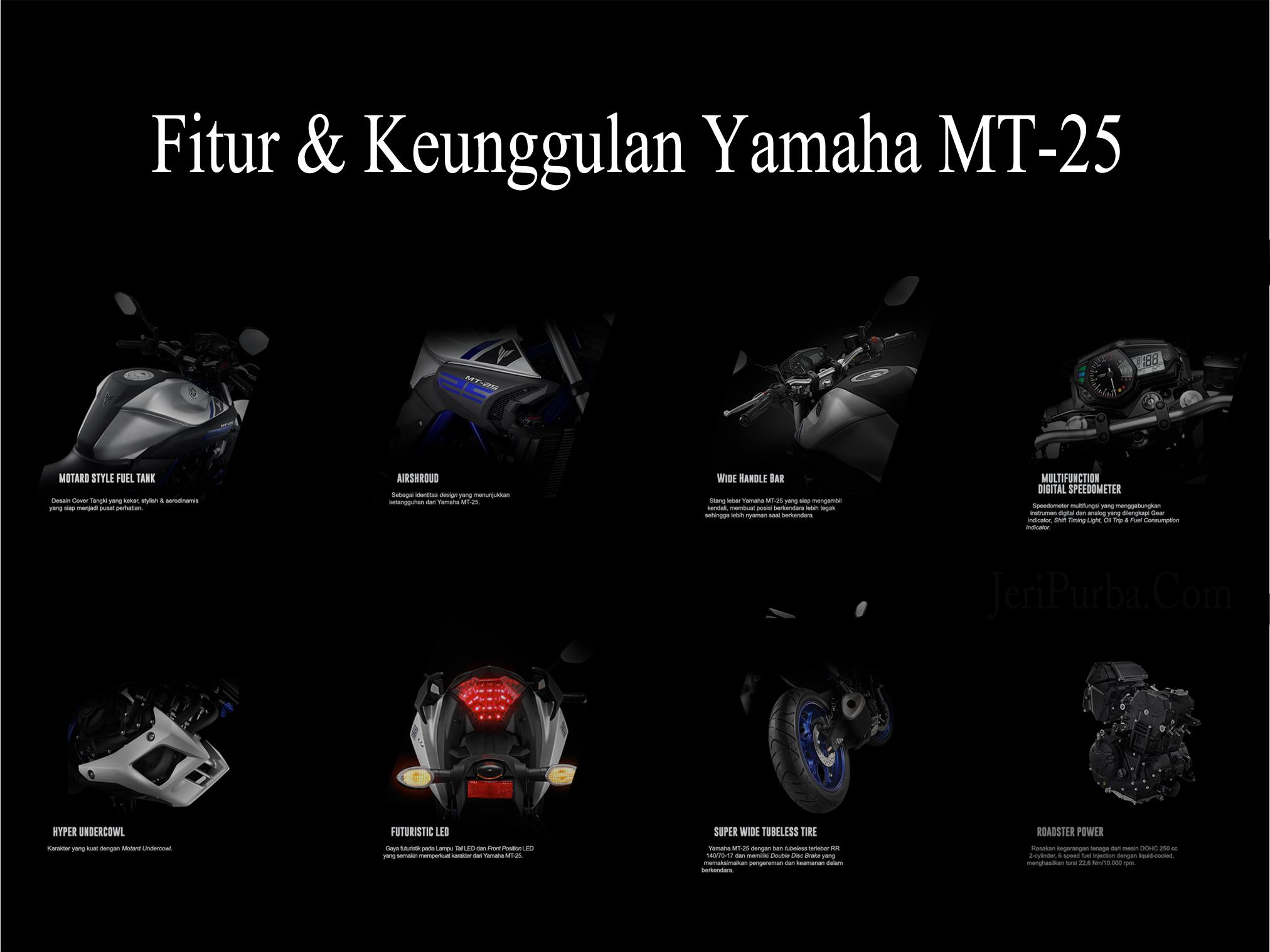 Fitur dan Keunggulan Yamaha MT-25
