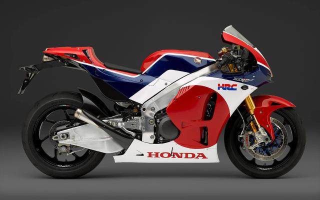 Gambar Motor Honda RC213V-S Tampak Samping