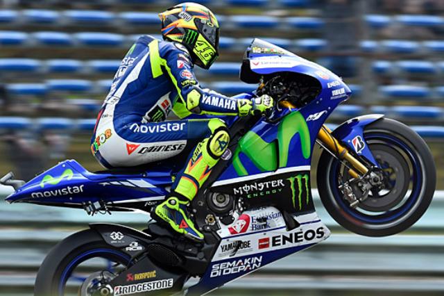 Rossi Menjadi Juara Di MotoGP Belanda 2015