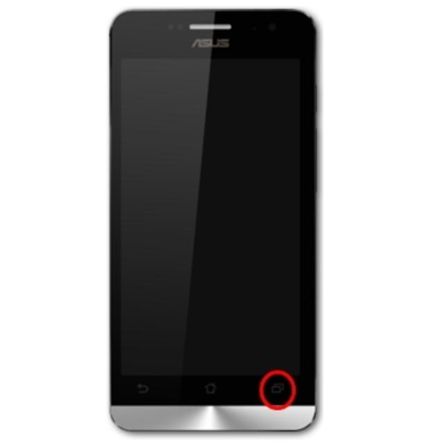Screenshot Asus Zenfone 2 Dengan Tombol Menu.