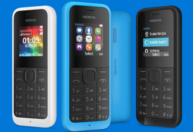 Spesifikasi dan harga new Nokia 105