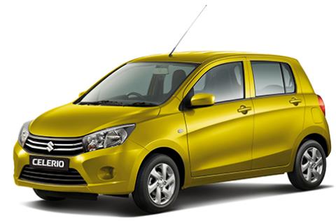 Suzuki Celerio Warna Kuning