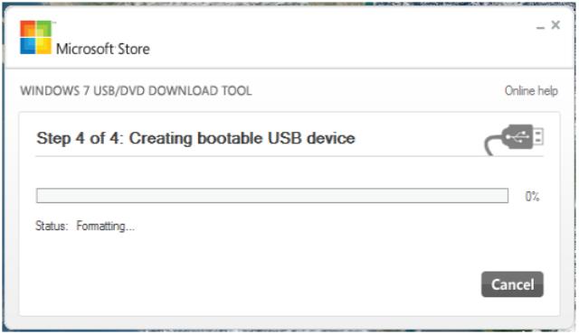 Cara Membuat Bootable USB Flashdisk Windows 10 - Langkah 4